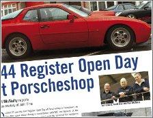 Porscheshop/PCGB Front Engine Open Day