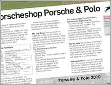 2010 Porsche and Polo - Porsche Post August 2010
