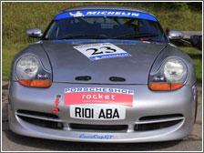 Stuart Ings' Boxster Racecar