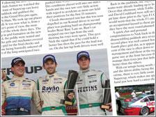 Porsche Supercup Diary - Porsche Post January 2012