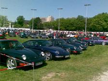 Porschefreunde at Dinslaken