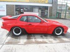 Dave Gorman's Porsche cars