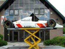 Porscheshop's F1 car