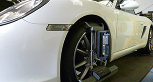 Additional wheel services for Porsche cars