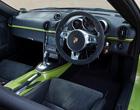 Porsche Cayman Gen 1 Silver & Coloured Interior Trim 2005 to 2009
