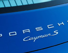 Porsche Cayman Gen 1 Badges & Decals 2005 to 2009