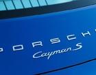 Porsche Cayman 718 Badges & Decals 2017 Onwards