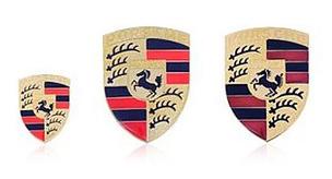 Porsche Crests, Decals & Badges
