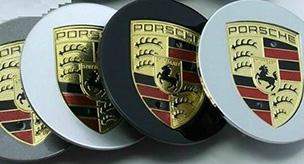 Wheel Center Caps for Porsche