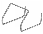 Porsche Cayman Gen 2 Body Seals 2009 to 2012