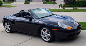 Porsche Boxster 986 Performance Parts 1997 to 2004