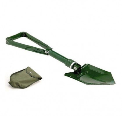 Universal Foldable Metal Shovel for Snow Ice & Mud. Ideal for Emergencies