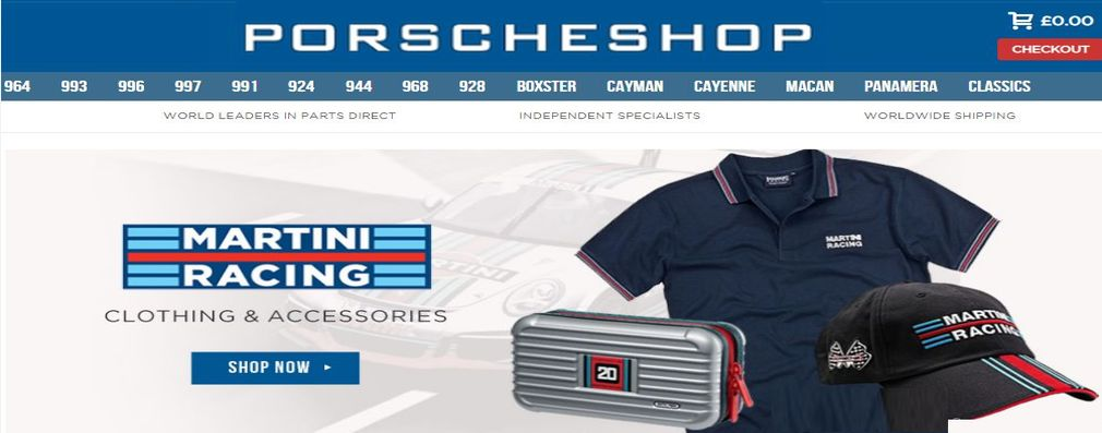 Martini Racing Clothing & Shoes
