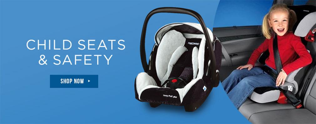 Child Seats & Safety Belts